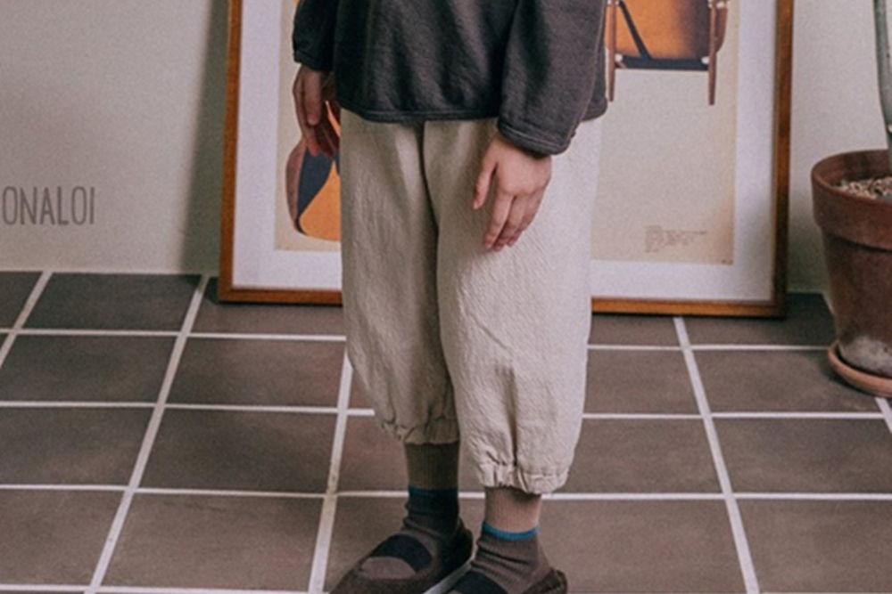 BONALOI - BRAND - Korean Children Fashion - #Kfashion4kids - Cotton Baggy Pants