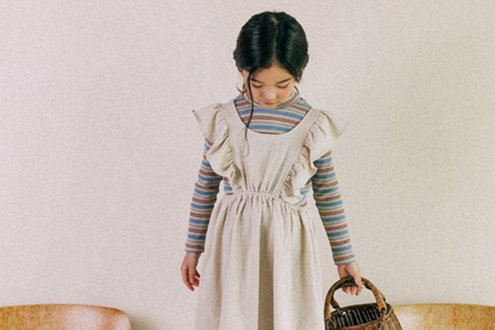 BONALOI - BRAND - Korean Children Fashion - #Kfashion4kids - Wing Layered One-piece