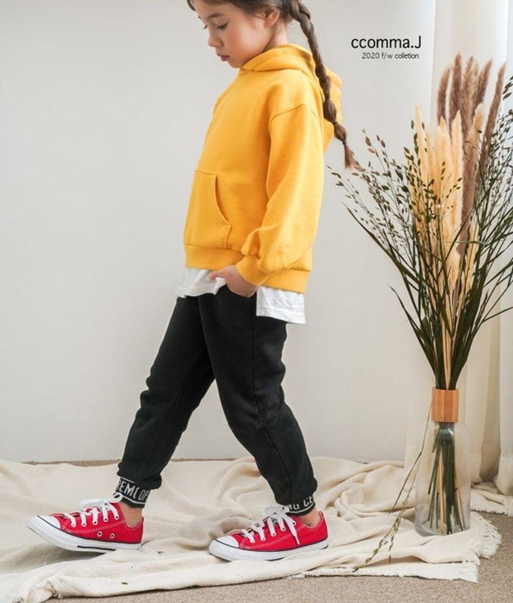 CCOMMA J - BRAND - Korean Children Fashion - #Kfashion4kids - Banding Baggy Pants
