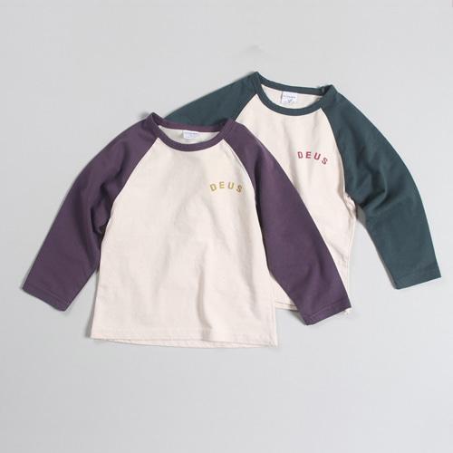 COMMENCER - BRAND - Korean Children Fashion - #Kfashion4kids - Raglan Tee