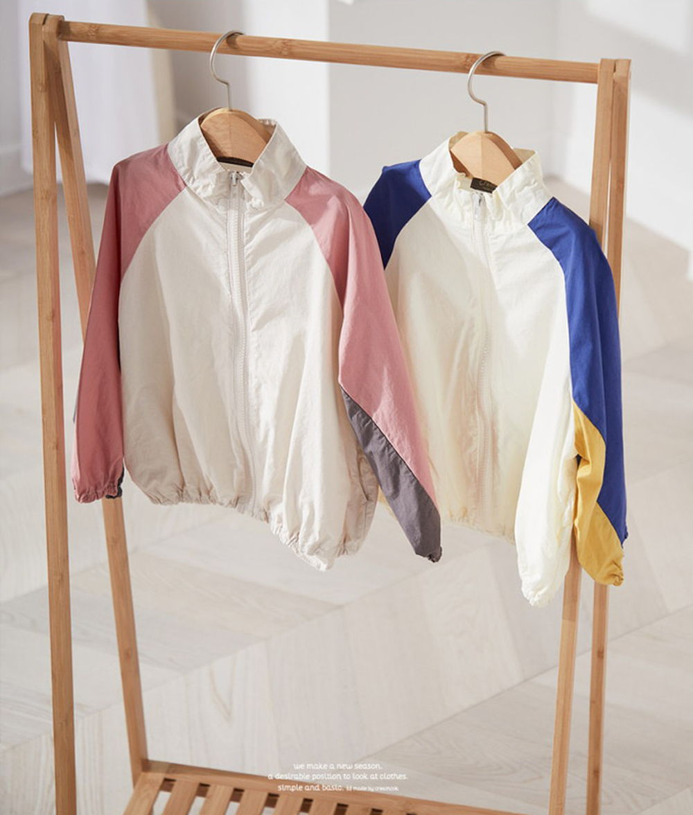 CREAMCOK - BRAND - Korean Children Fashion - #Kfashion4kids - Newtro Windbreaker