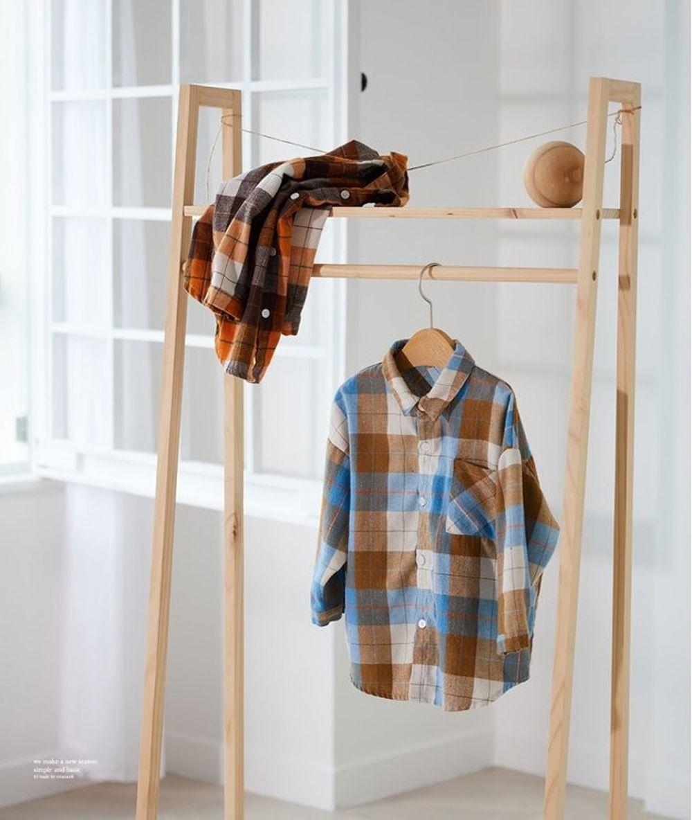 CREAMCOK - BRAND - Korean Children Fashion - #Kfashion4kids - Sunshine Check Shirt