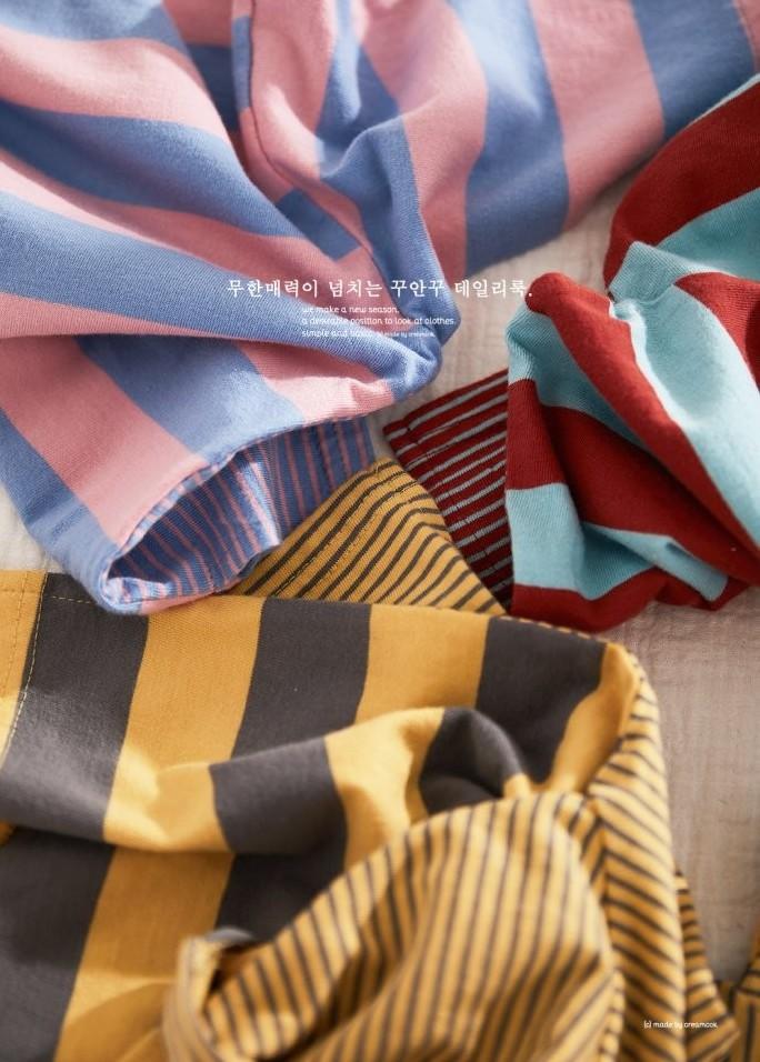 CREAMCOK - Korean Children Fashion - #Kfashion4kids - So Much Stripe Tee