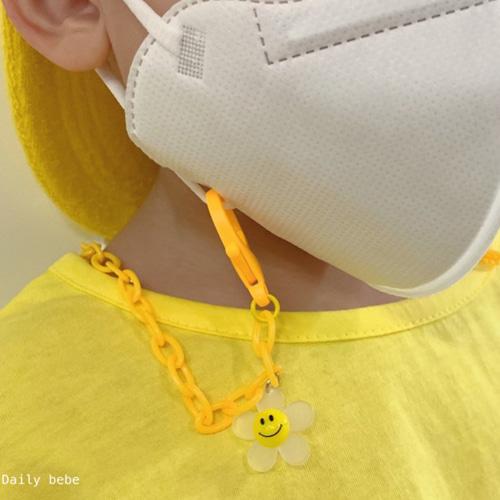 DAILY BEBE - BRAND - Korean Children Fashion - #Kfashion4kids - Daily Flower Smile Strap