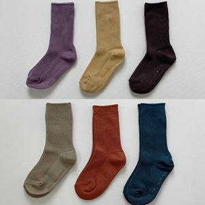 DE MARVI - BRAND - Korean Children Fashion - #Kfashion4kids - Rib Socks [set of 2]