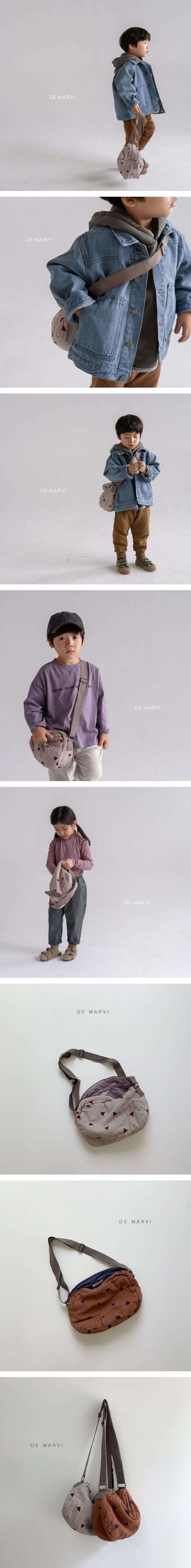 DE MARVI - Korean Children Fashion - #Kfashion4kids - Play Cross Bag