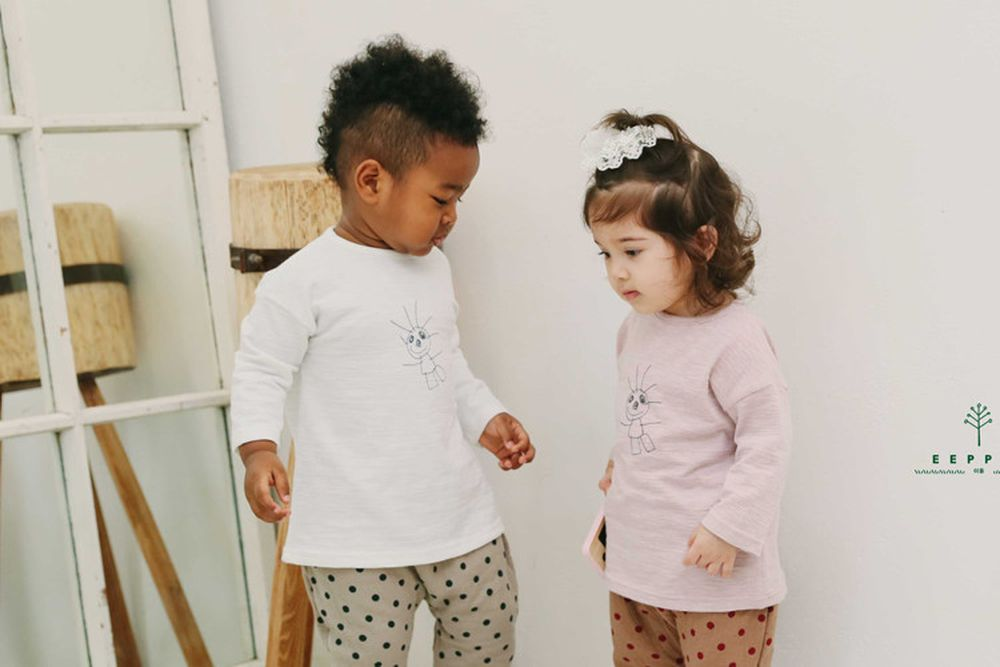 EEPPLE - BRAND - Korean Children Fashion - #Kfashion4kids - Little Tee