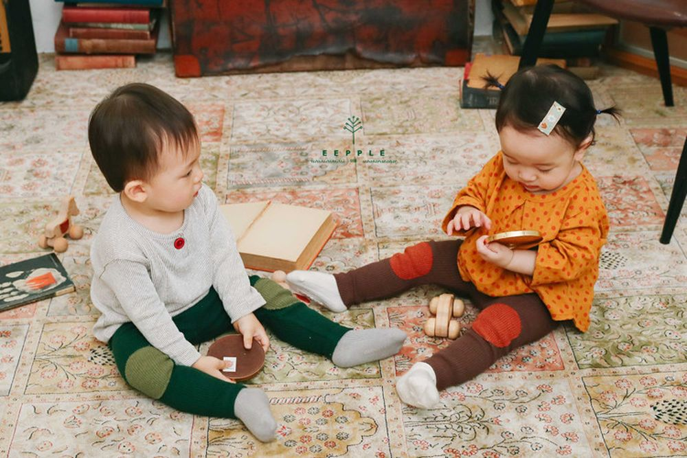 EEPPLE - BRAND - Korean Children Fashion - #Kfashion4kids - Waffle Leggings