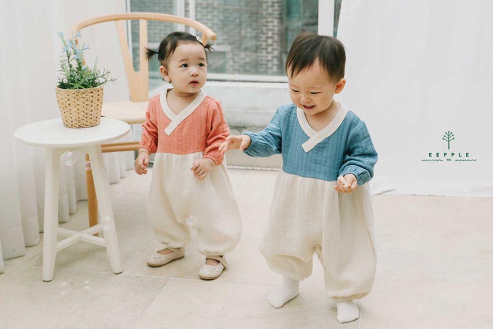 EEPPLE - BRAND - Korean Children Fashion - #Kfashion4kids - Wrap Bodysuit