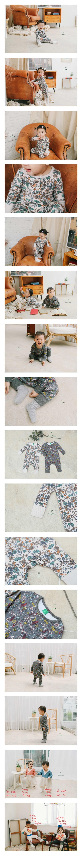 EEPPLE - Korean Children Fashion - #Kfashion4kids - Flower Bodysuit