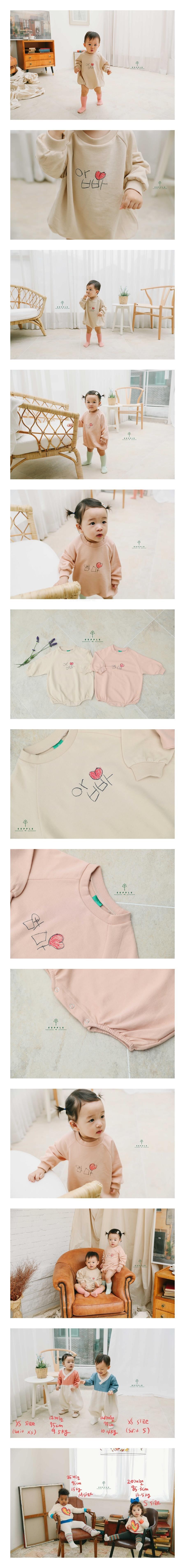 EEPPLE - Korean Children Fashion - #Kfashion4kids - Mom Dad Bodysuit