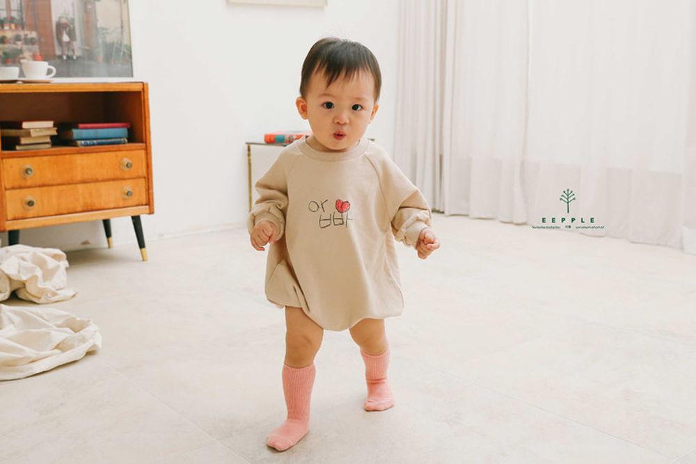 EEPPLE - BRAND - Korean Children Fashion - #Kfashion4kids - Mom Dad Bodysuit