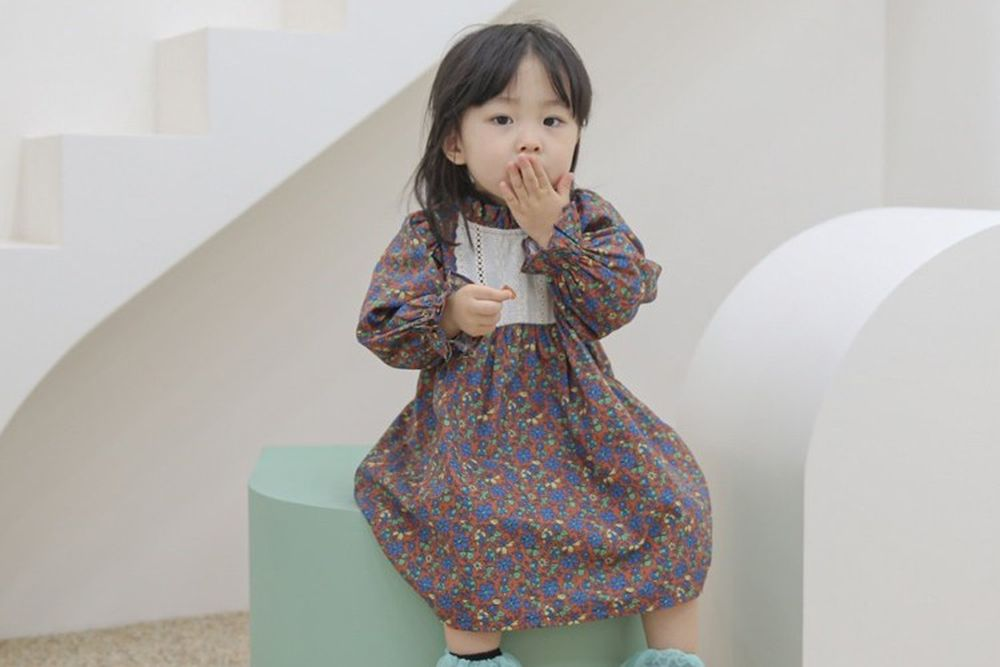 FLOWER J - BRAND - Korean Children Fashion - #Kfashion4kids - Autumn One-piece