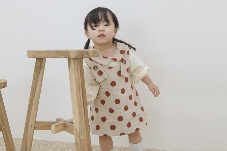 FLOWER J - BRAND - Korean Children Fashion - #Kfashion4kids - Bunny Suspender Skirt