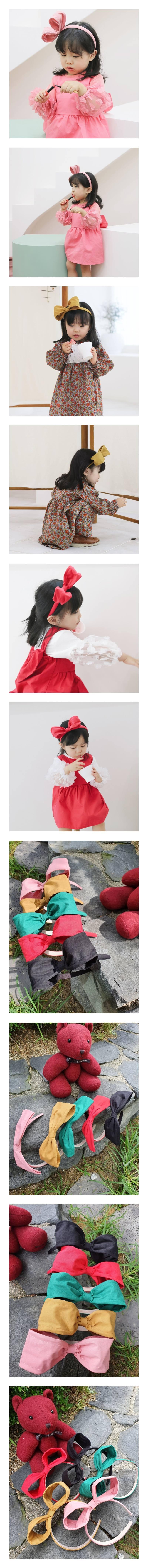 FLOWER J - Korean Children Fashion - #Kfashion4kids - Wire Hairband