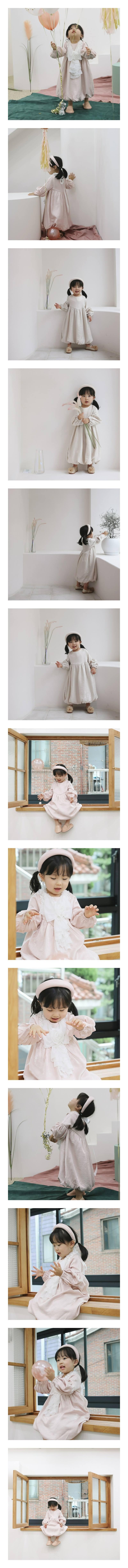 FLOWER J - Korean Children Fashion - #Kfashion4kids - Balloon Party One-piece