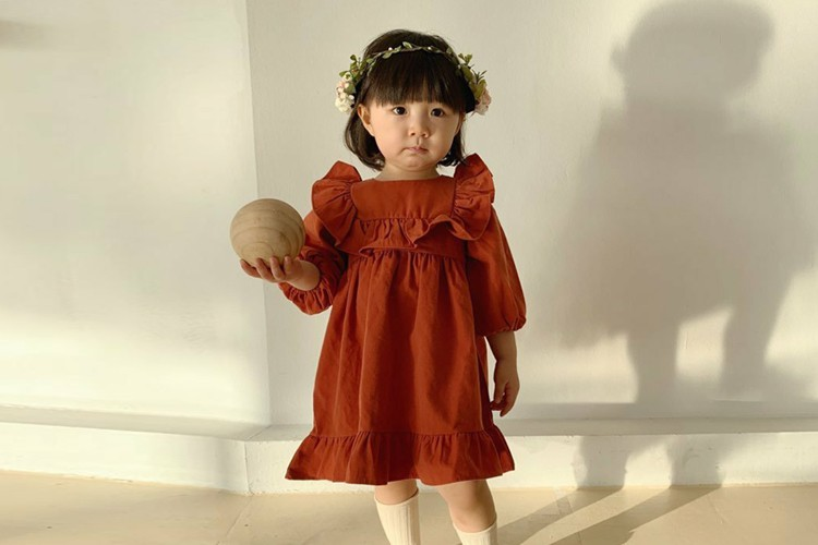 FLOWER J - BRAND - Korean Children Fashion - #Kfashion4kids - Angel One-piece