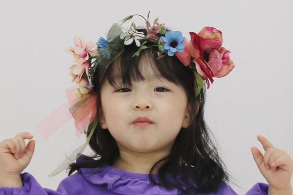 FLOWER J - BRAND - Korean Children Fashion - #Kfashion4kids - Flower Hairband
