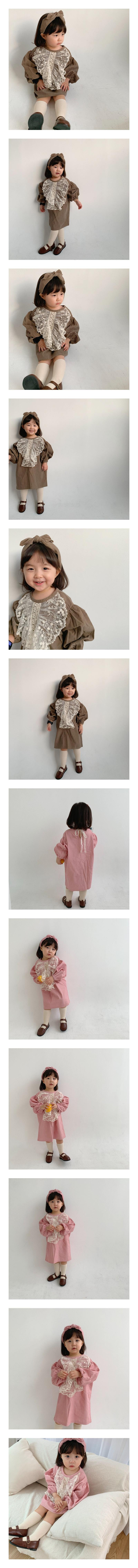 FLOWER J - Korean Children Fashion - #Kfashion4kids - Mellina One-piece