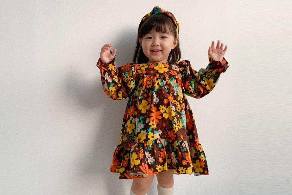 FLOWER J - BRAND - Korean Children Fashion - #Kfashion4kids - Good Mood One-piece