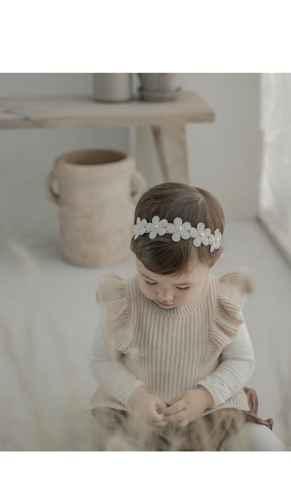 HAPPY PRINCE - Korean Children Fashion - #Kfashion4kids - Andree Baby Hairband [set of 5]