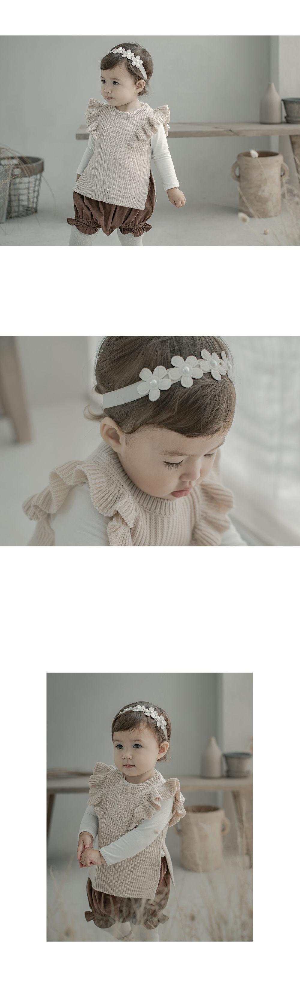HAPPY PRINCE - Korean Children Fashion - #Kfashion4kids - Andree Baby Hairband [set of 5] - 3