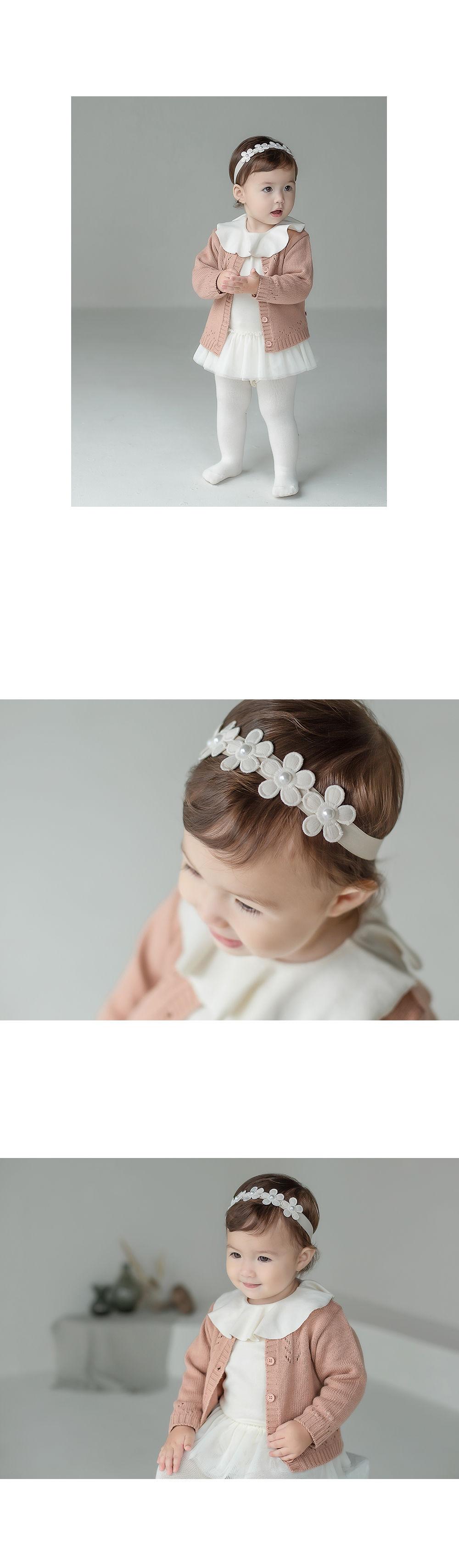 HAPPY PRINCE - Korean Children Fashion - #Kfashion4kids - Andree Baby Hairband [set of 5] - 5