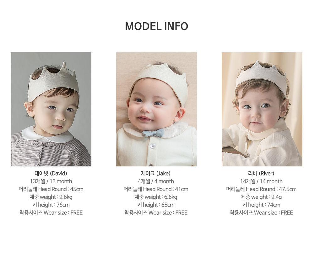 HAPPY PRINCE - Korean Children Fashion - #Kfashion4kids - Flot Crown Baby Hairband [set of 5] - 10