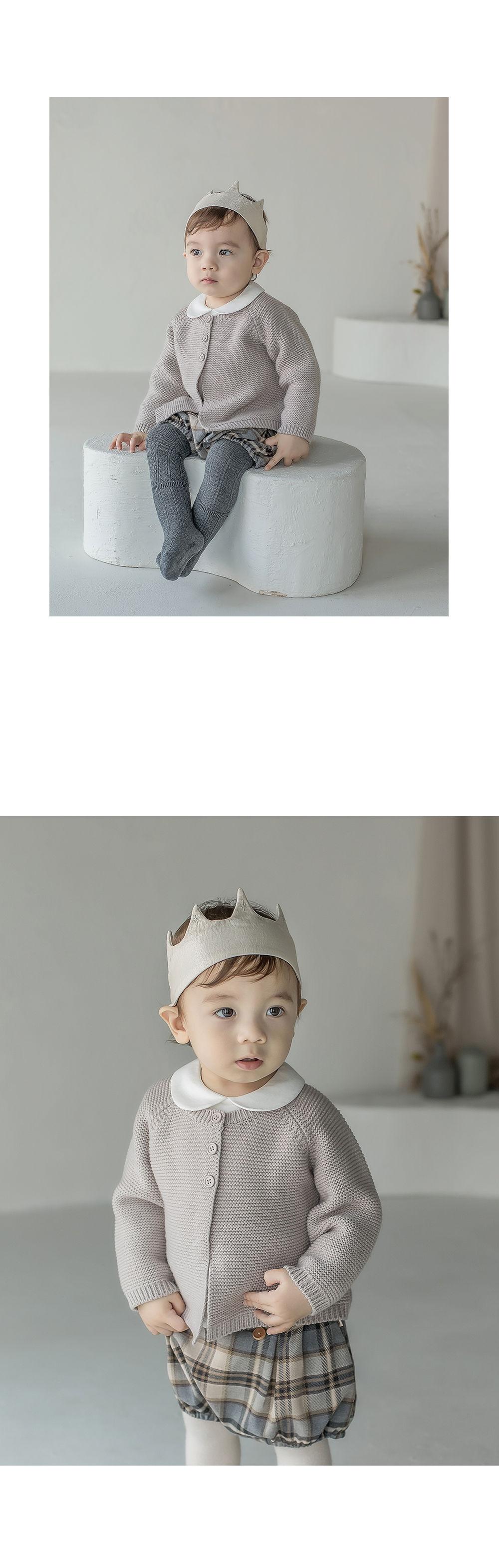 HAPPY PRINCE - Korean Children Fashion - #Kfashion4kids - Flot Crown Baby Hairband [set of 5] - 3