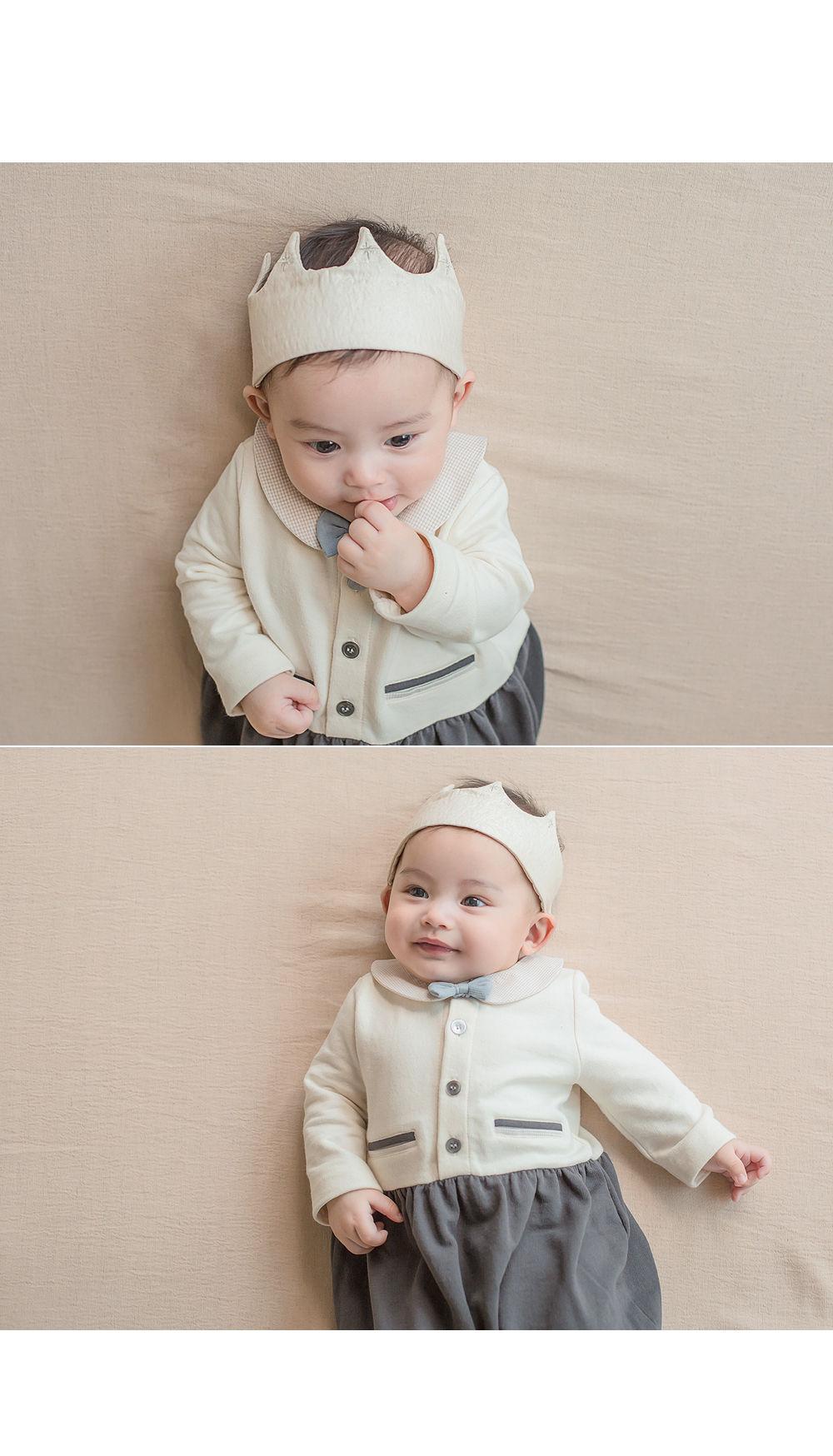 HAPPY PRINCE - Korean Children Fashion - #Kfashion4kids - Flot Crown Baby Hairband [set of 5] - 4