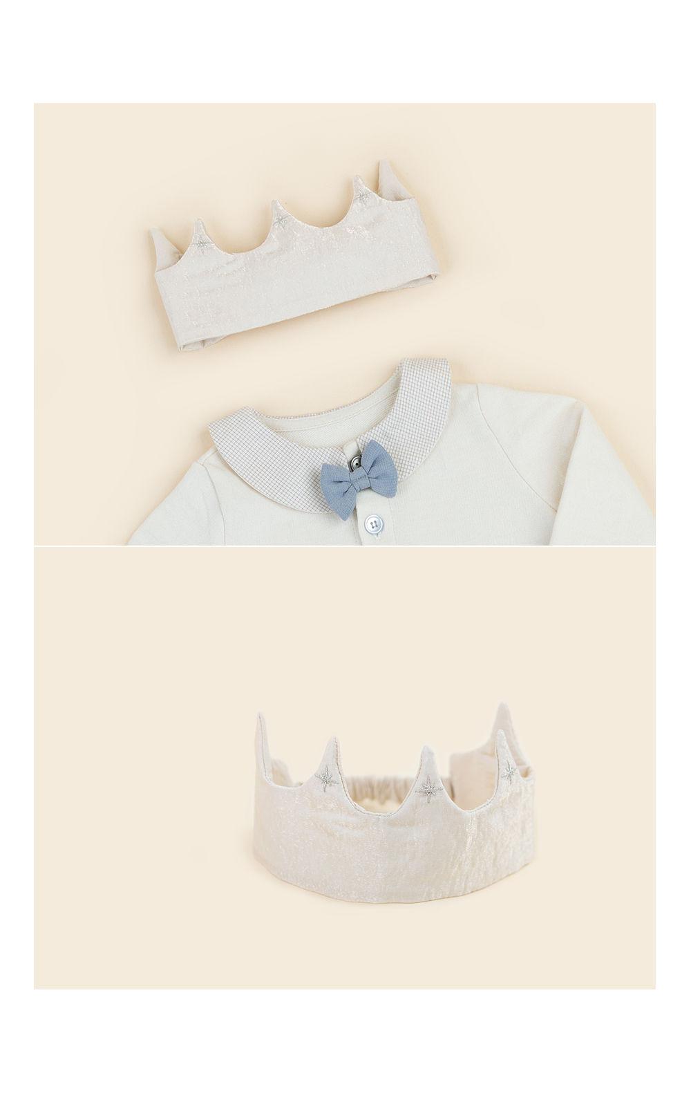 HAPPY PRINCE - Korean Children Fashion - #Kfashion4kids - Flot Crown Baby Hairband [set of 5] - 5