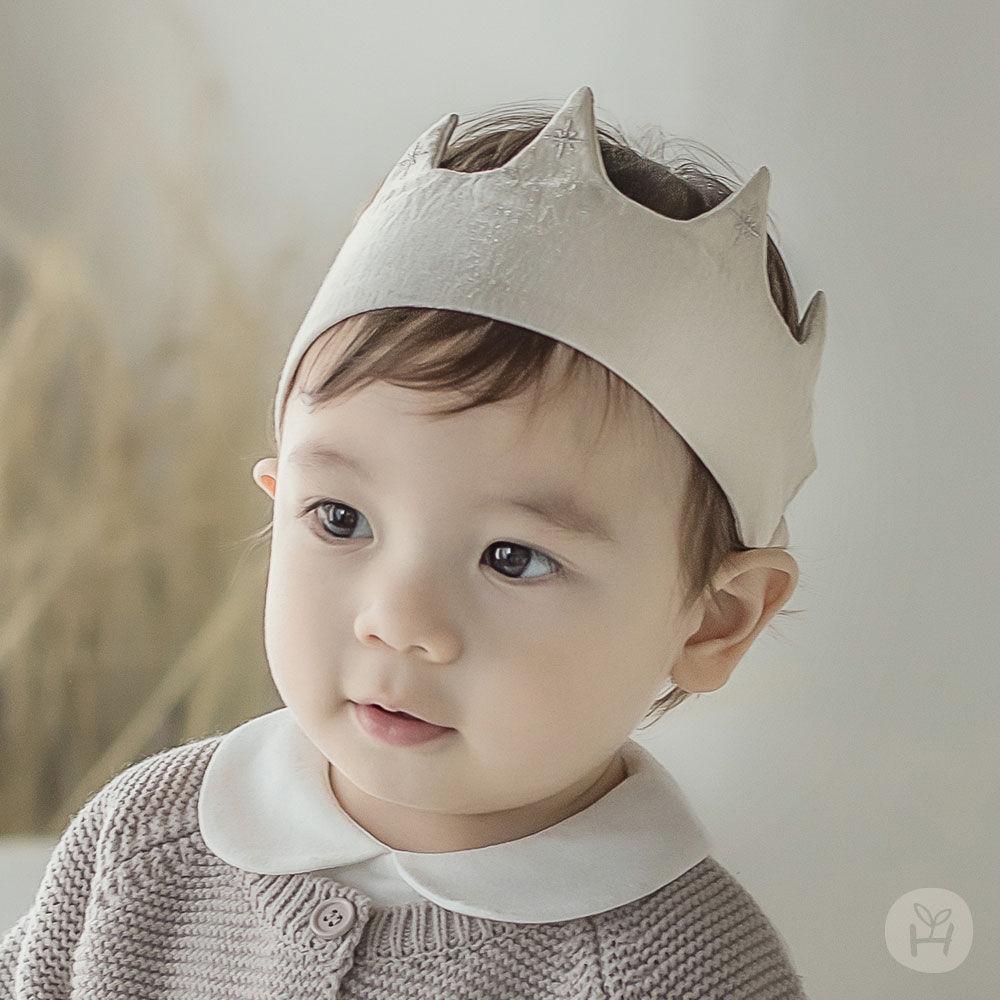 HAPPY PRINCE - BRAND - Korean Children Fashion - #Kfashion4kids - Flot Crown Baby Hairband [set of 5]