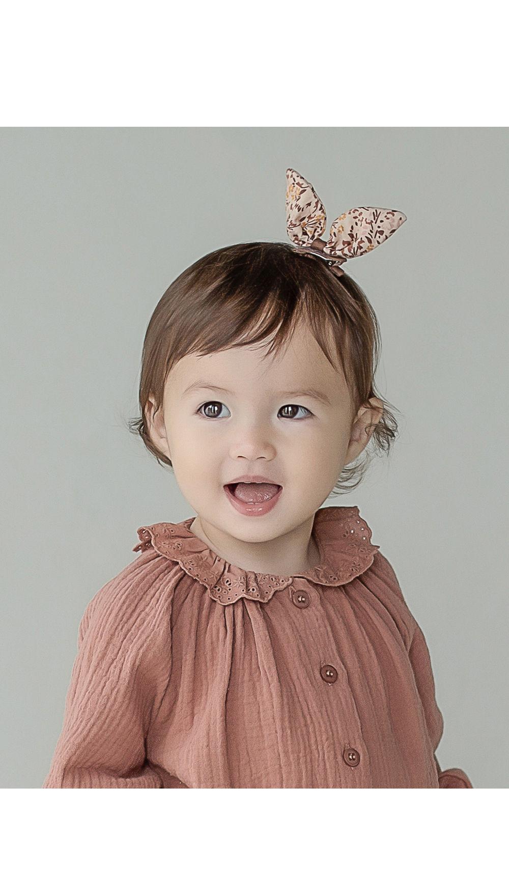 HAPPY PRINCE - Korean Children Fashion - #Kfashion4kids - Vienna Baby Hairpin [set of 5]