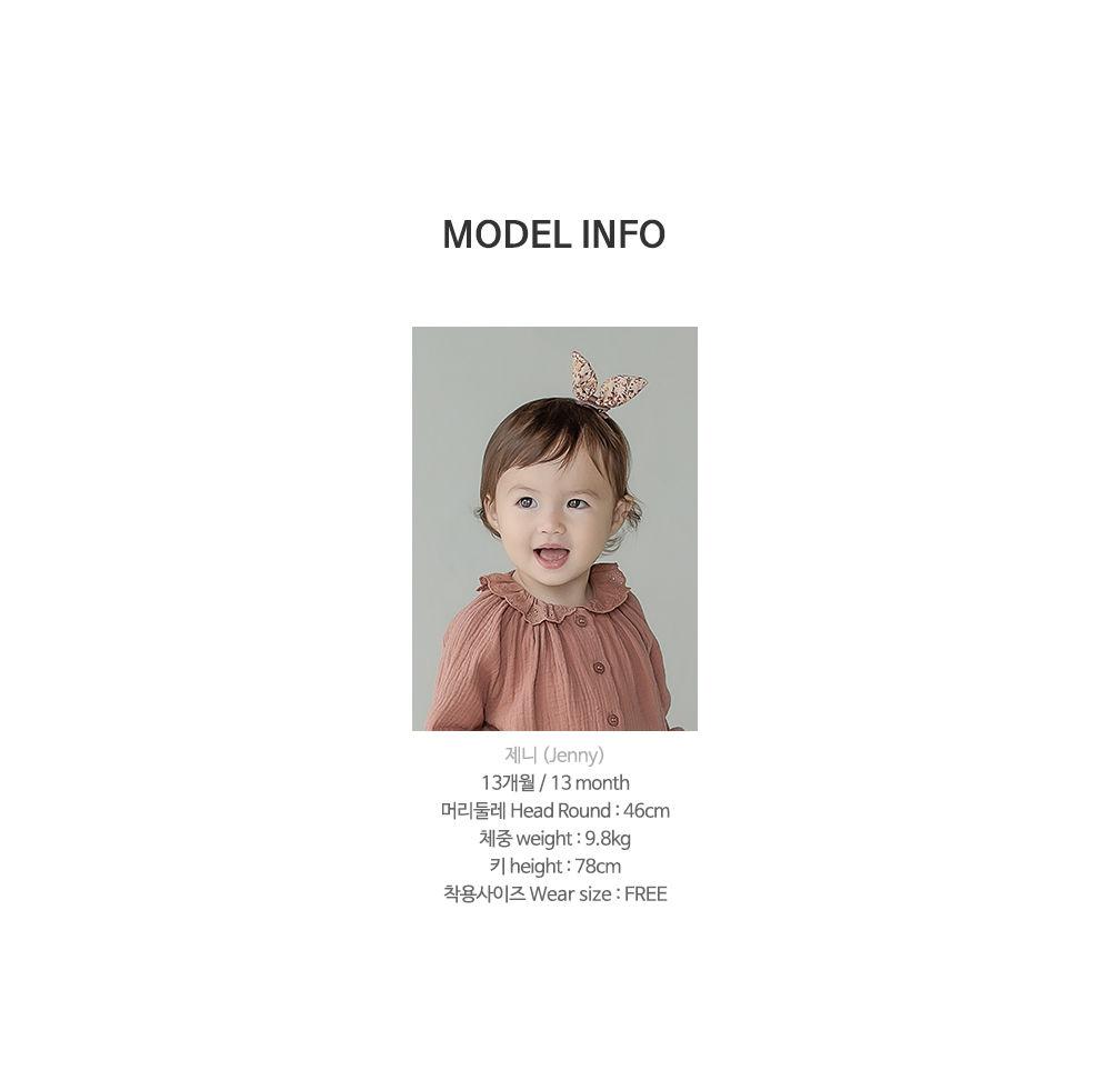 HAPPY PRINCE - Korean Children Fashion - #Kfashion4kids - Vienna Baby Hairpin [set of 5] - 10