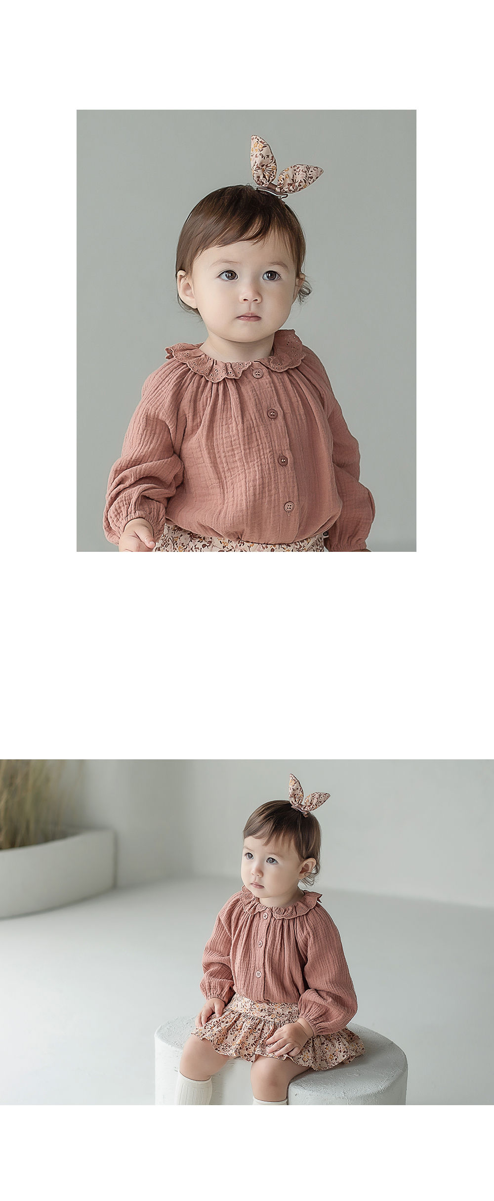 HAPPY PRINCE - Korean Children Fashion - #Kfashion4kids - Vienna Baby Hairpin [set of 5] - 5