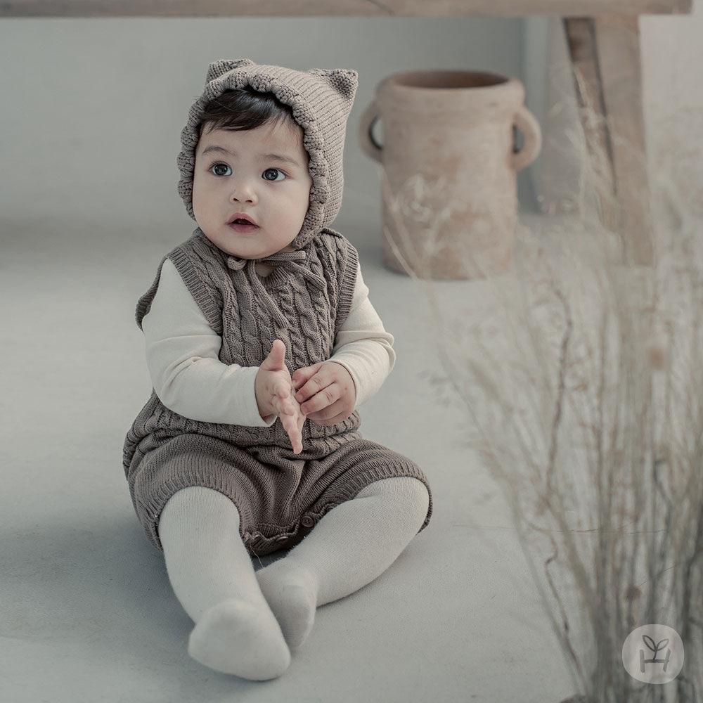 HAPPY PRINCE - BRAND - Korean Children Fashion - #Kfashion4kids - Moi Knit Baby Coveralls