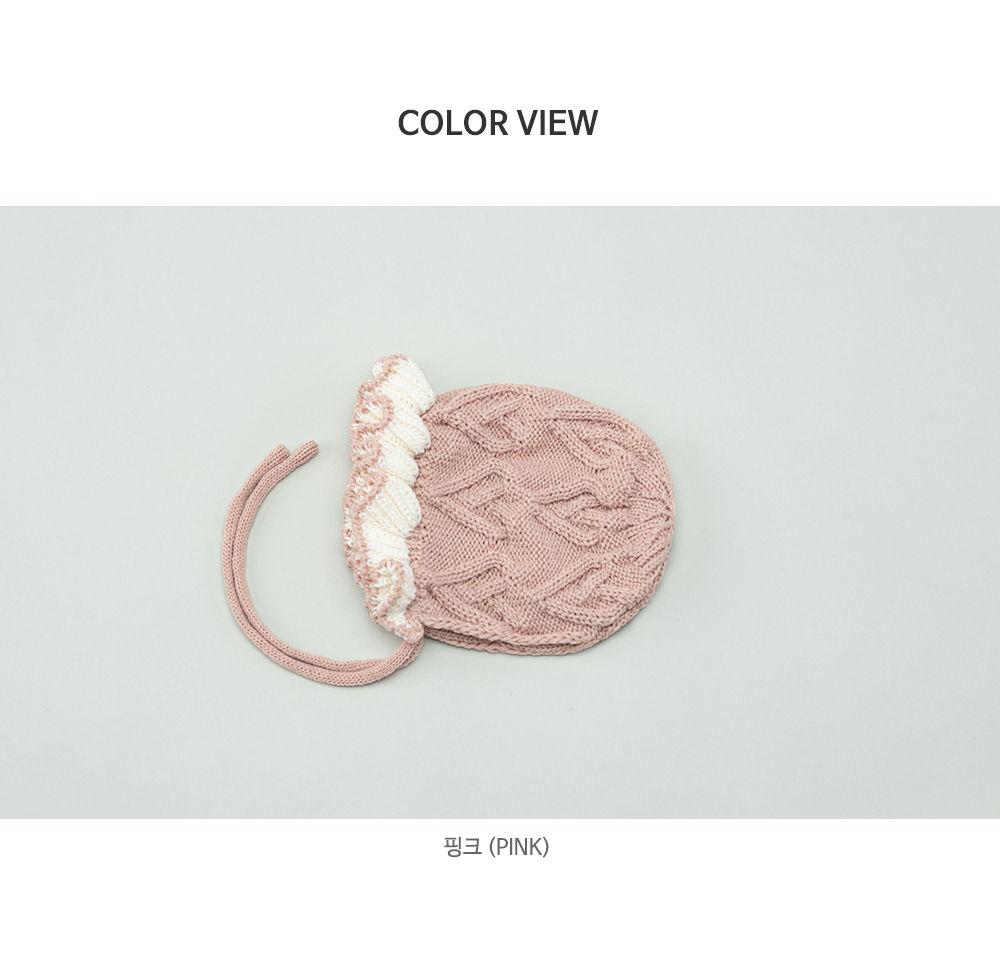 HAPPY PRINCE - Korean Children Fashion - #Kfashion4kids - Pauline Knit Baby Bonnet - 7