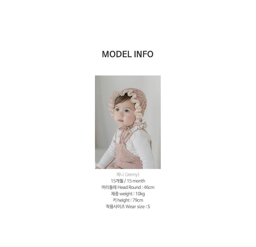 HAPPY PRINCE - Korean Children Fashion - #Kfashion4kids - Pauline Knit Baby Overall - 10
