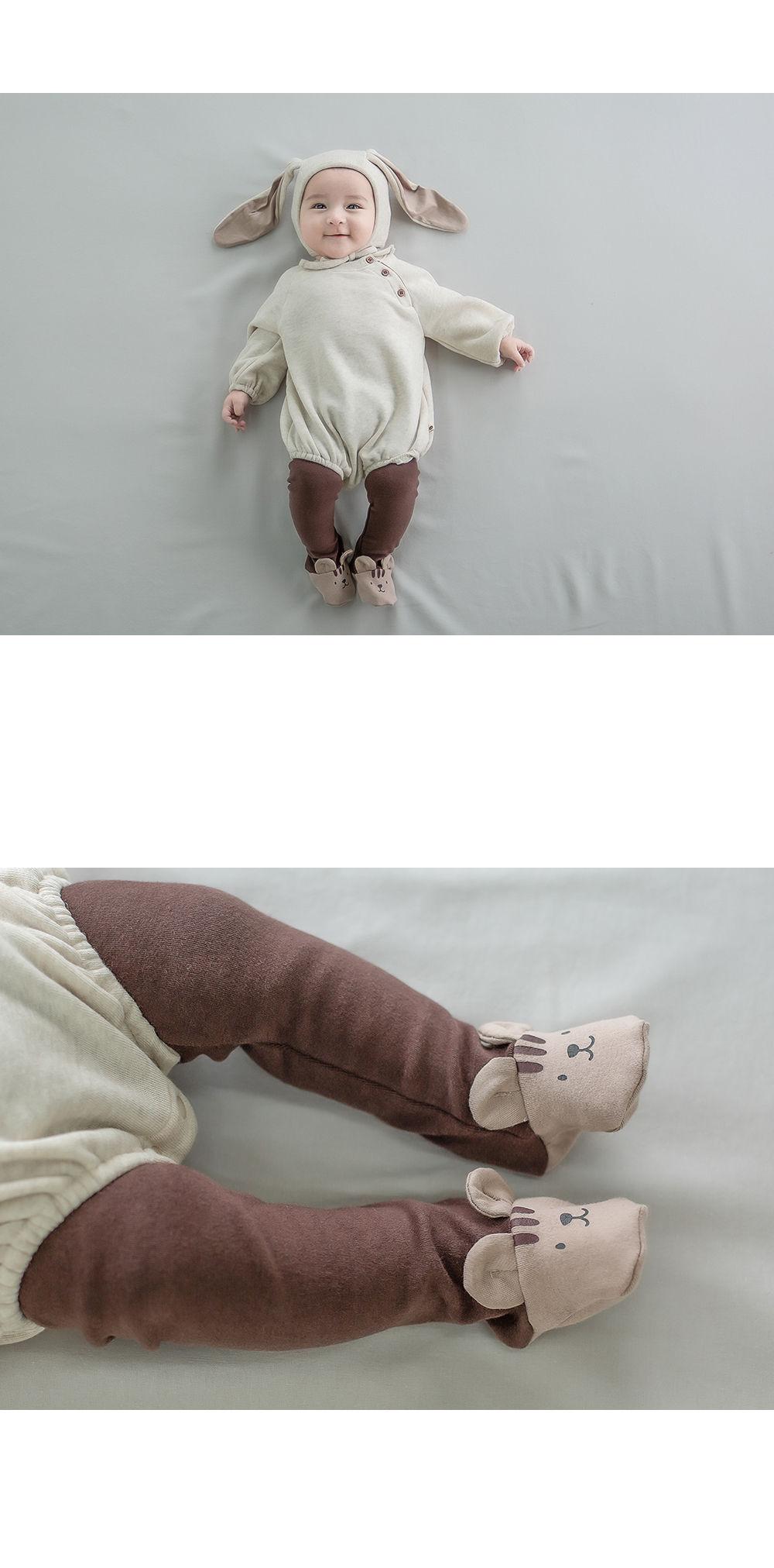 HAPPY PRINCE - Korean Children Fashion - #Kfashion4kids - Hug Me Foot Leggings - 3