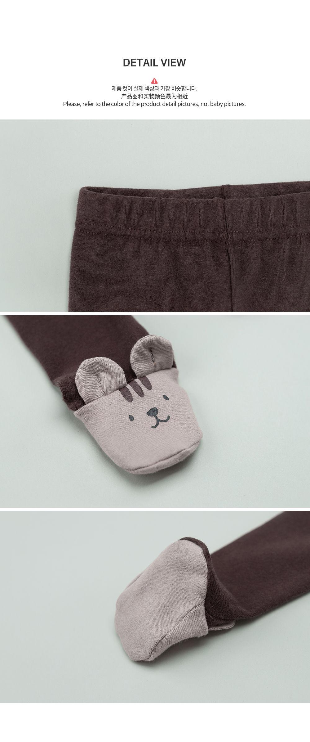 HAPPY PRINCE - Korean Children Fashion - #Kfashion4kids - Hug Me Foot Leggings - 5