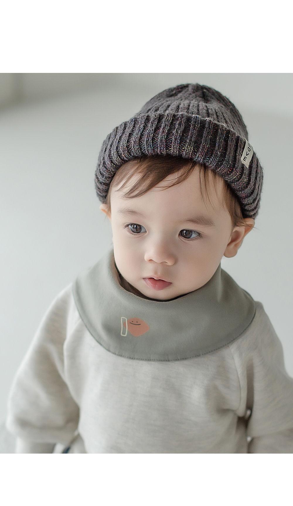 HAPPY PRINCE - Korean Children Fashion - #Kfashion4kids - Livia Baby Both Sided Banana Bib