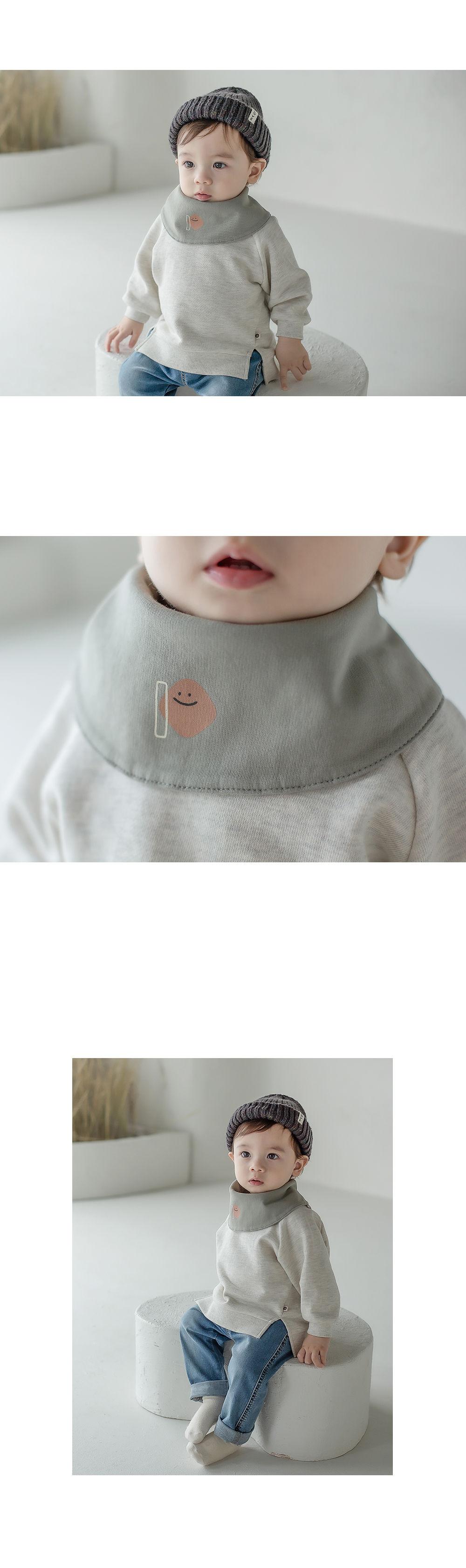 HAPPY PRINCE - Korean Children Fashion - #Kfashion4kids - Livia Baby Both Sided Banana Bib - 3