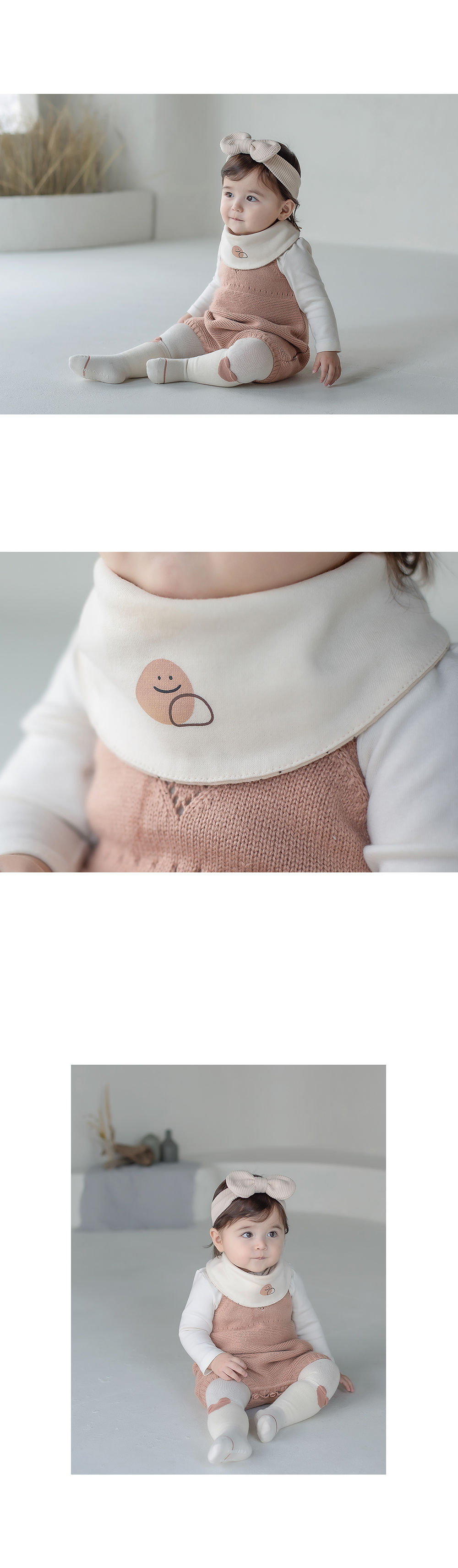 HAPPY PRINCE - Korean Children Fashion - #Kfashion4kids - Livia Baby Both Sided Banana Bib - 6