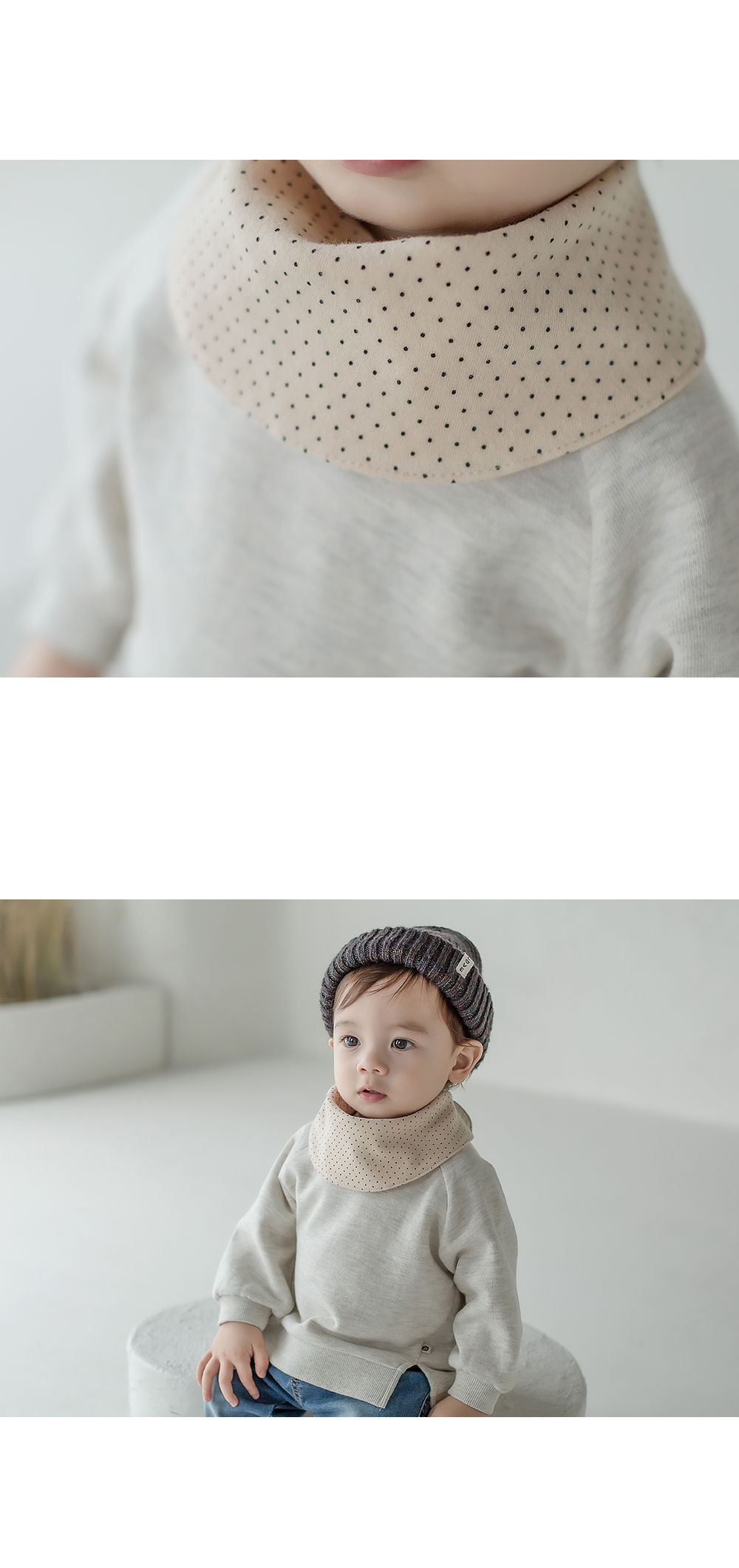HAPPY PRINCE - Korean Children Fashion - #Kfashion4kids - Livia Baby Both Sided Banana Bib - 7