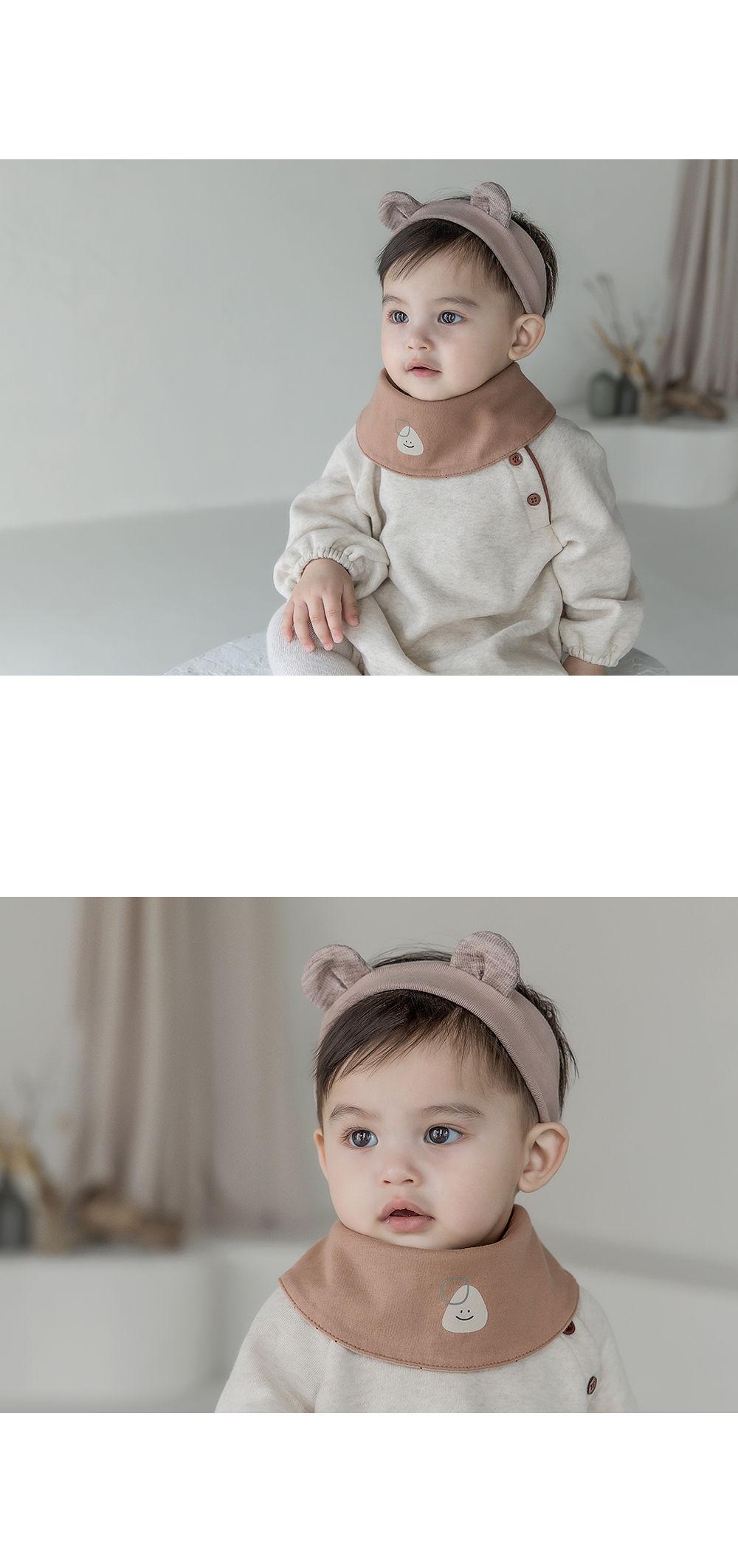 HAPPY PRINCE - Korean Children Fashion - #Kfashion4kids - Livia Baby Both Sided Banana Bib - 8