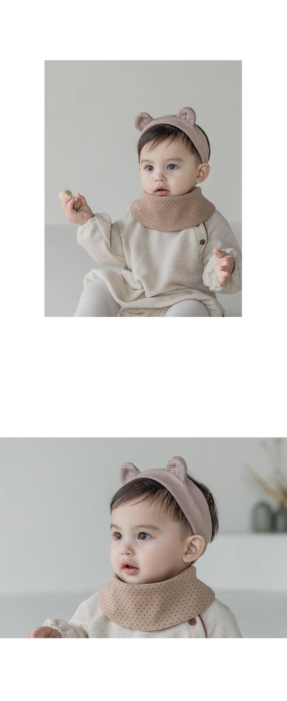 HAPPY PRINCE - Korean Children Fashion - #Kfashion4kids - Livia Baby Both Sided Banana Bib - 9