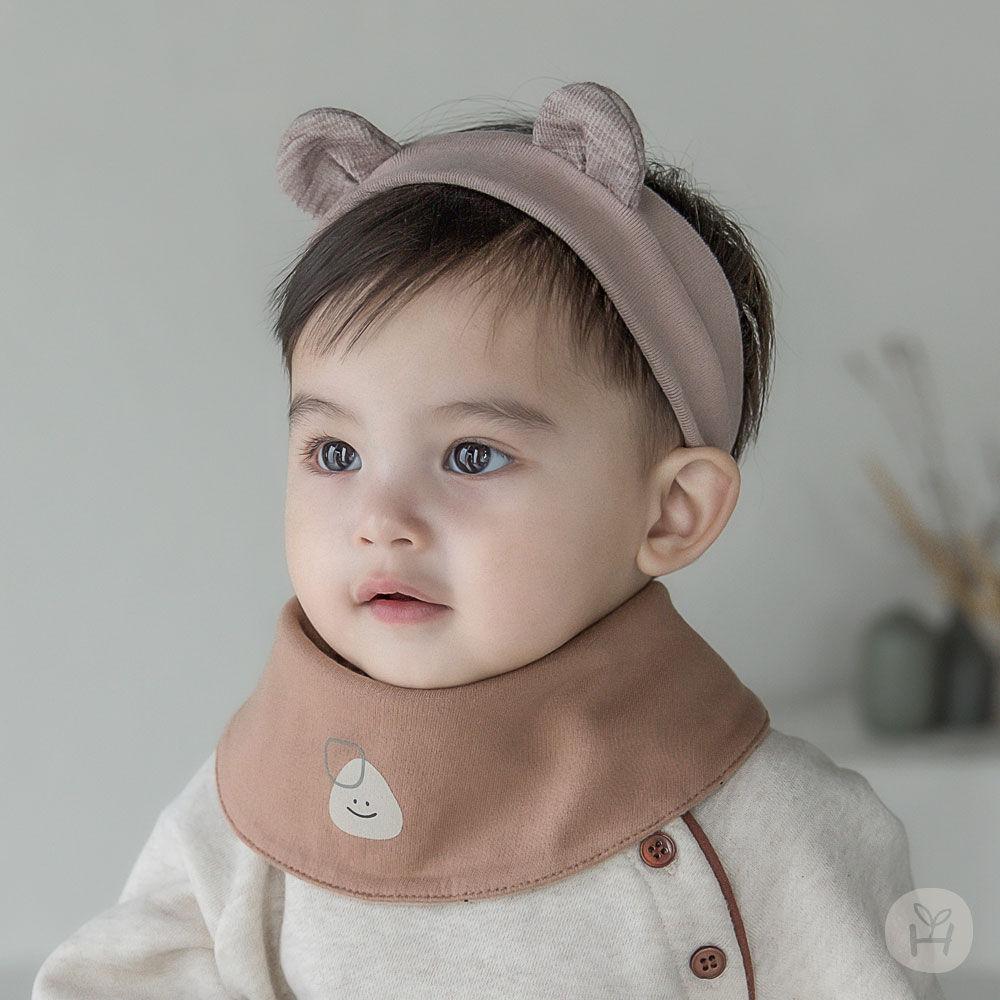 HAPPY PRINCE - BRAND - Korean Children Fashion - #Kfashion4kids - Livia Baby Both Sided Banana Bib