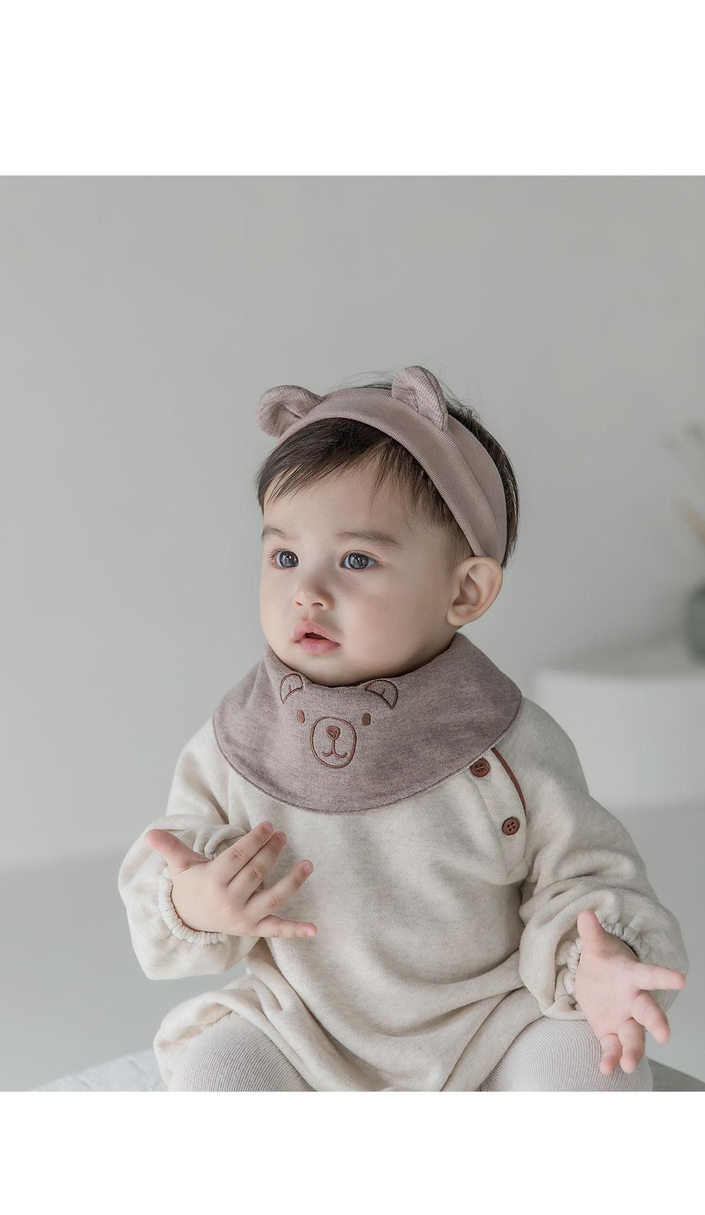 HAPPY PRINCE - Korean Children Fashion - #Kfashion4kids - Coi Double-sided Baby Banana Bib