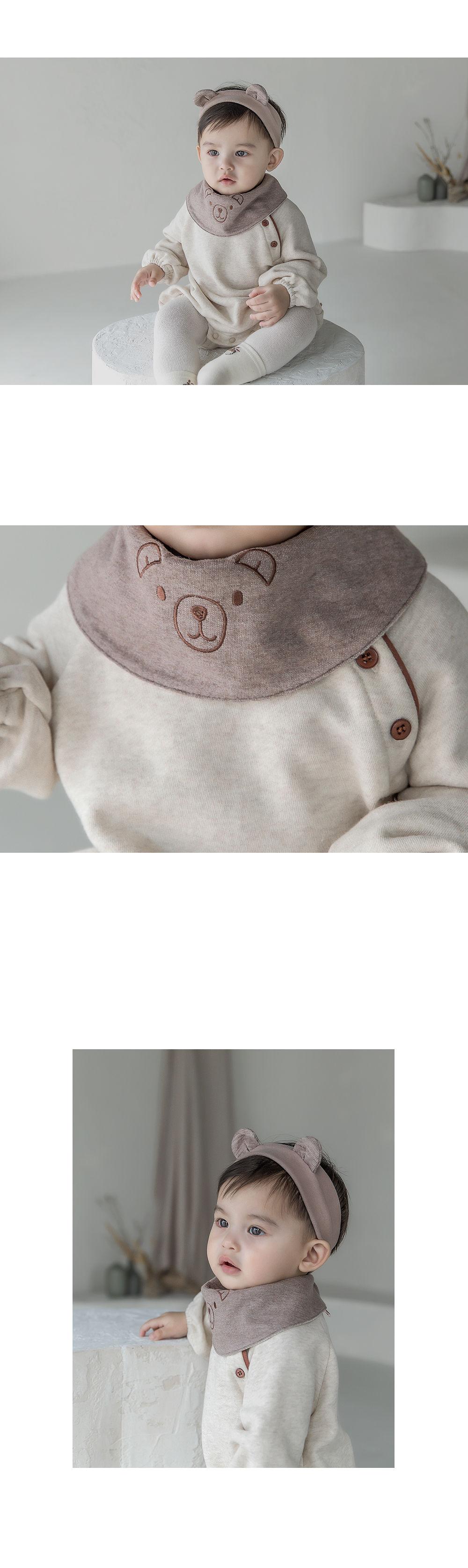 HAPPY PRINCE - Korean Children Fashion - #Kfashion4kids - Coi Double-sided Baby Banana Bib - 3