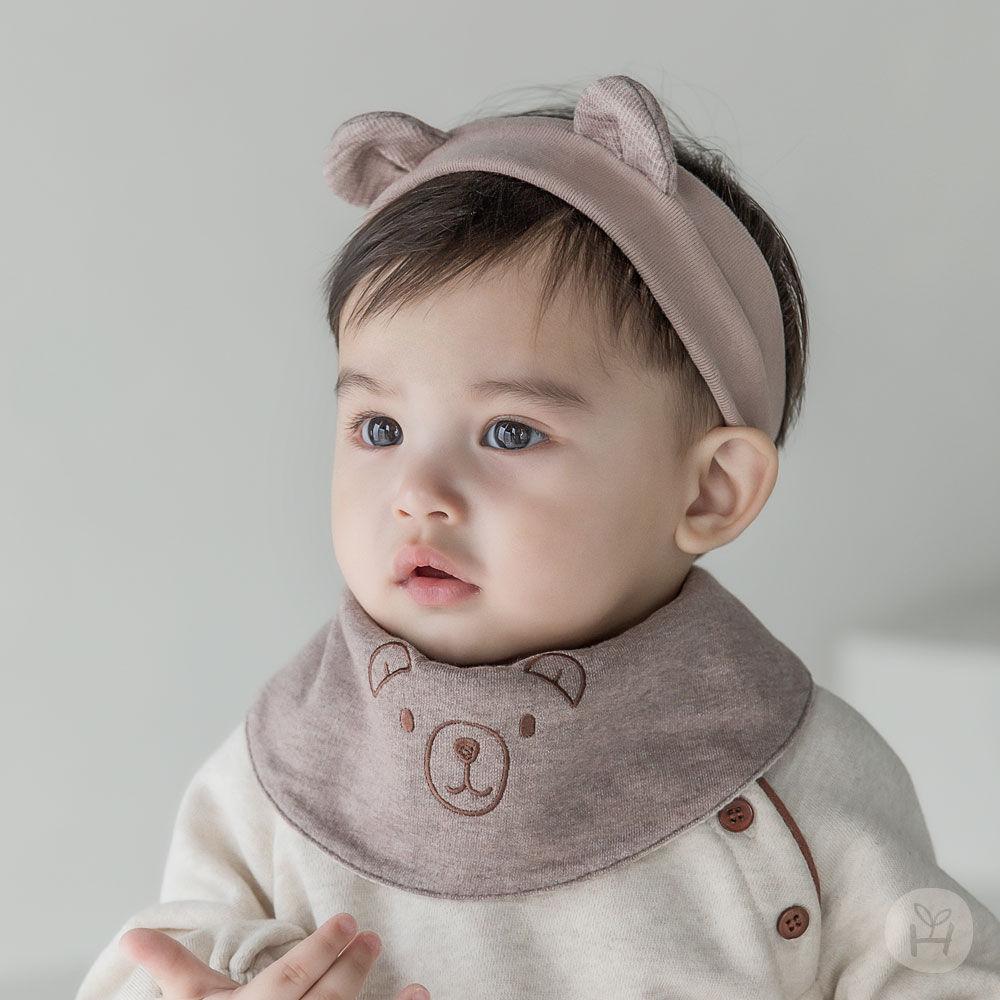 HAPPY PRINCE - BRAND - Korean Children Fashion - #Kfashion4kids - Coi Double-sided Baby Banana Bib